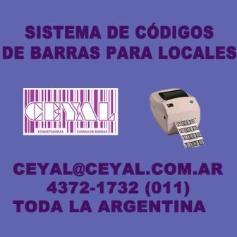 Retiro Argentina impresion de etiquetas poliamida precio - senasa