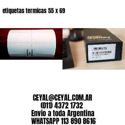 etiquetas termicas 55 x 69