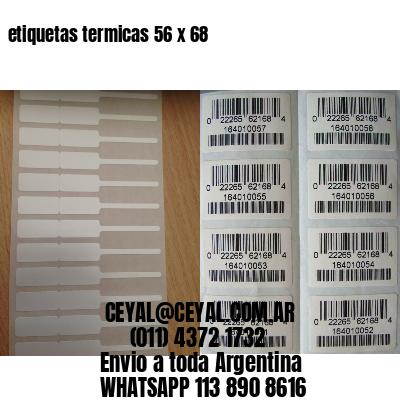 etiquetas termicas 56 x 68