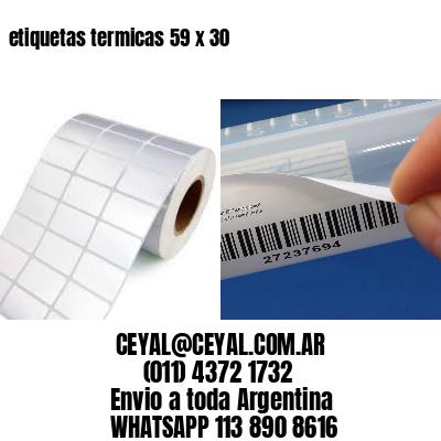 etiquetas termicas 59 x 30