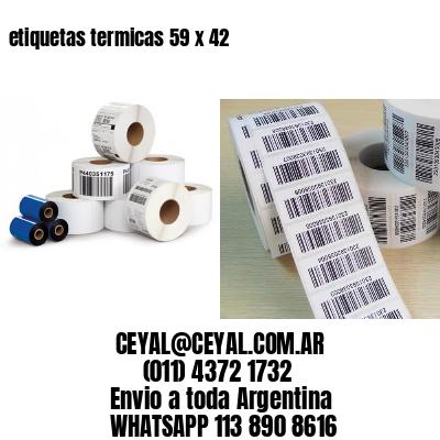 etiquetas termicas 59 x 42