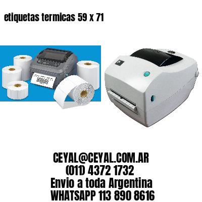 etiquetas termicas 59 x 71
