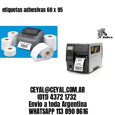 etiquetas adhesivas 60 x 95