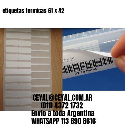 etiquetas termicas 61 x 42