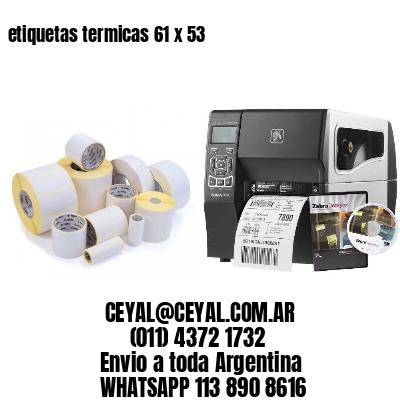 etiquetas termicas 61 x 53