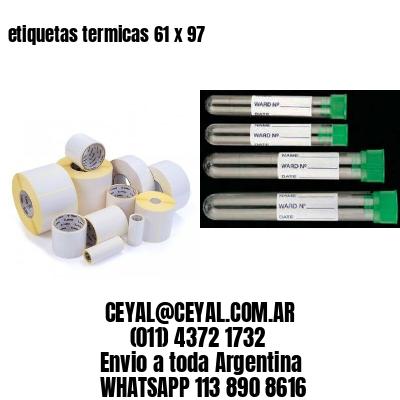 etiquetas termicas 61 x 97