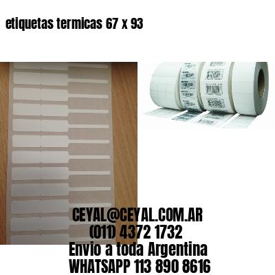 etiquetas termicas 67 x 93