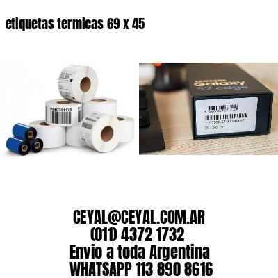etiquetas termicas 69 x 45