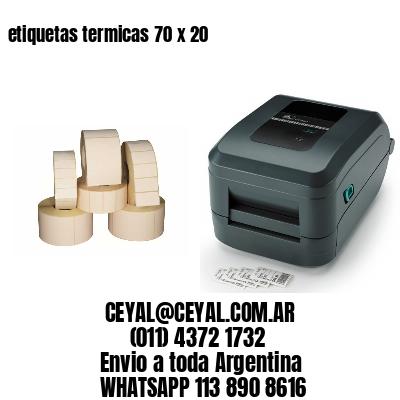 etiquetas termicas 70 x 20