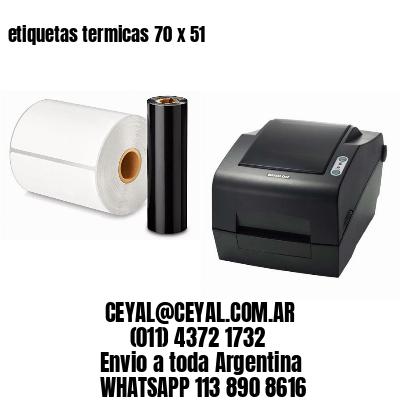 etiquetas termicas 70 x 51