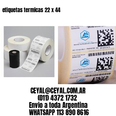 etiquetas termicas 22 x 44
