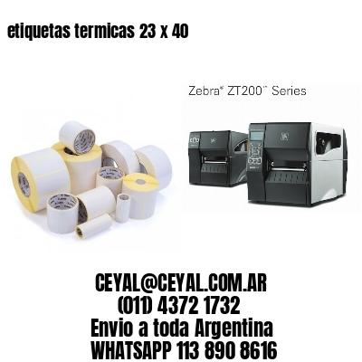 etiquetas termicas 23 x 40