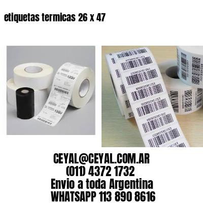 etiquetas termicas 26 x 47