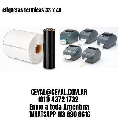 etiquetas termicas 33 x 48