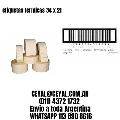 etiquetas termicas 34 x 21