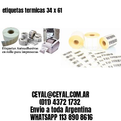 etiquetas termicas 34 x 61