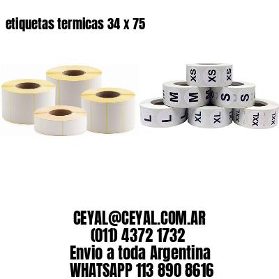 etiquetas termicas 34 x 75