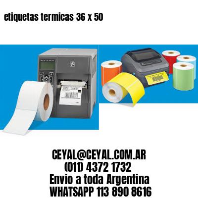 etiquetas termicas 36 x 50