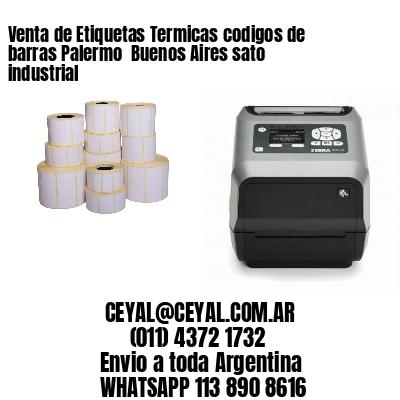 Venta de Etiquetas Termicas codigos de barras Palermo  Buenos Aires sato industrial