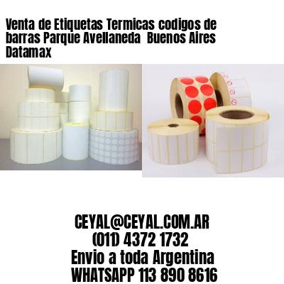 Venta de Etiquetas Termicas codigos de barras Parque Avellaneda  Buenos Aires Datamax