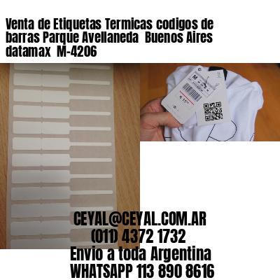 Venta de Etiquetas Termicas codigos de barras Parque Avellaneda  Buenos Aires datamax  M-4206