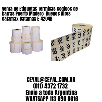 Venta de Etiquetas Termicas codigos de barras Puerto Madero  Buenos Aires datamax Datamax E-4204B