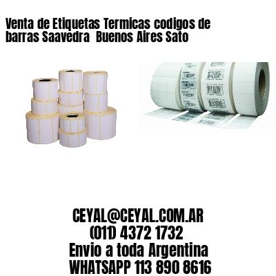Venta de Etiquetas Termicas codigos de barras Saavedra  Buenos Aires Sato