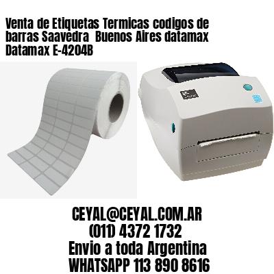 Venta de Etiquetas Termicas codigos de barras Saavedra  Buenos Aires datamax Datamax E-4204B