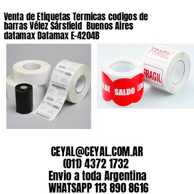 Venta de Etiquetas Termicas codigos de barras Vélez Sársfield  Buenos Aires datamax Datamax E-4204B