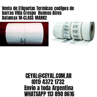 Venta de Etiquetas Termicas codigos de barras Villa Crespo  Buenos Aires Datamax M-CLASS MARK2