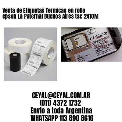 Venta de Etiquetas Termicas en rollo epson La Paternal Buenos Aires tsc 2410M