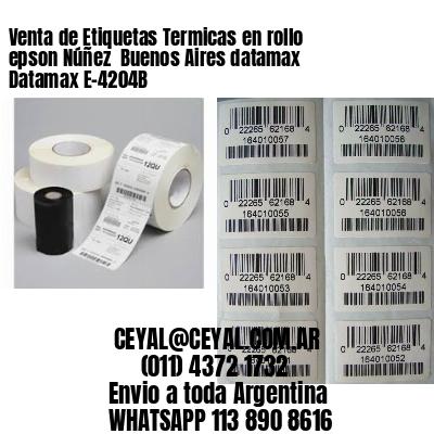 Venta de Etiquetas Termicas en rollo epson Núñez  Buenos Aires datamax Datamax E-4204B