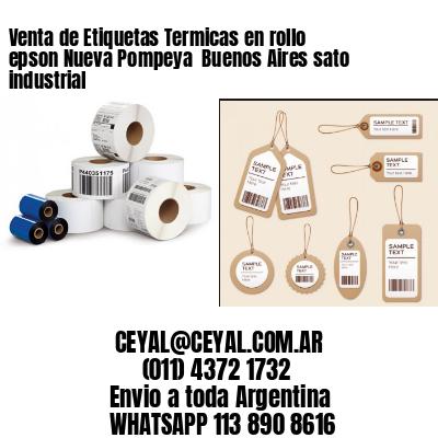 Venta de Etiquetas Termicas en rollo epson Nueva Pompeya  Buenos Aires sato industrial