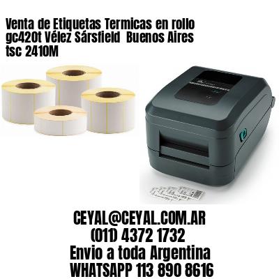 Venta de Etiquetas Termicas en rollo gc420t Vélez Sársfield  Buenos Aires tsc 2410M
