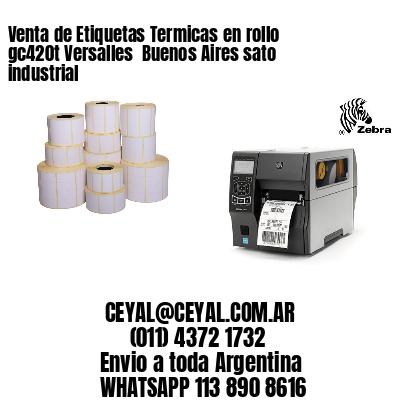 Venta de Etiquetas Termicas en rollo gc420t Versalles  Buenos Aires sato industrial