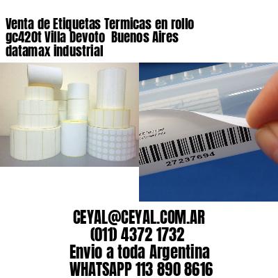 Venta de Etiquetas Termicas en rollo gc420t Villa Devoto  Buenos Aires datamax industrial