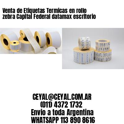 Venta de Etiquetas Termicas en rollo zebra Capital Federal datamax escritorio
