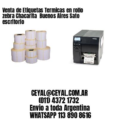 Venta de Etiquetas Termicas en rollo zebra Chacarita  Buenos Aires Sato escritorio
