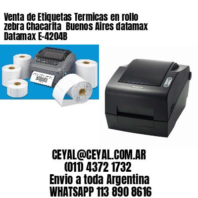Venta de Etiquetas Termicas en rollo zebra Chacarita  Buenos Aires datamax Datamax E-4204B