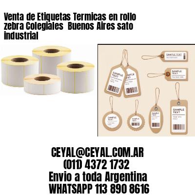Venta de Etiquetas Termicas en rollo zebra Colegiales  Buenos Aires sato industrial