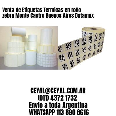 Venta de Etiquetas Termicas en rollo zebra Monte Castro Buenos Aires Datamax