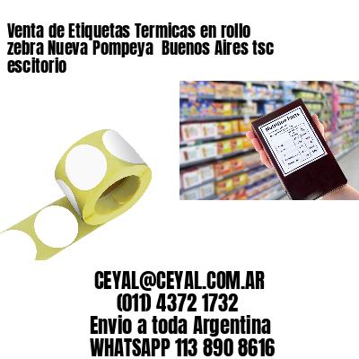Venta de Etiquetas Termicas en rollo zebra Nueva Pompeya  Buenos Aires tsc escitorio