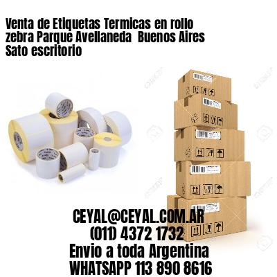 Venta de Etiquetas Termicas en rollo zebra Parque Avellaneda  Buenos Aires Sato escritorio