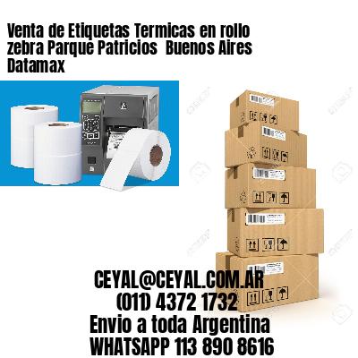 Venta de Etiquetas Termicas en rollo zebra Parque Patricios  Buenos Aires Datamax