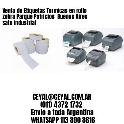 Venta de Etiquetas Termicas en rollo zebra Parque Patricios  Buenos Aires sato industrial
