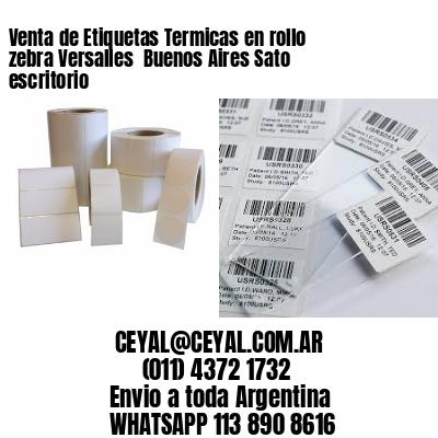 Venta de Etiquetas Termicas en rollo zebra Versalles  Buenos Aires Sato escritorio