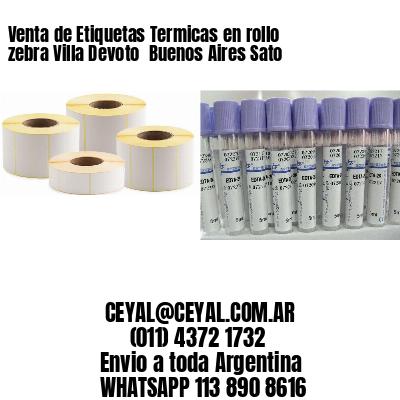 Venta de Etiquetas Termicas en rollo zebra Villa Devoto  Buenos Aires Sato