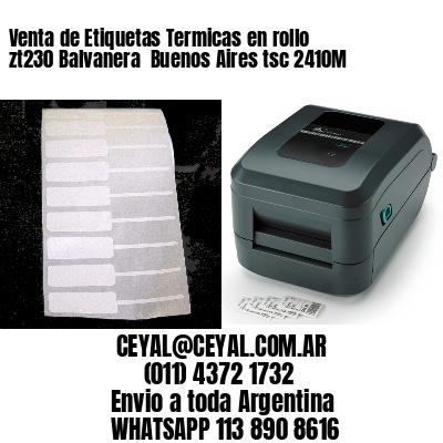 Venta de Etiquetas Termicas en rollo zt230 Balvanera  Buenos Aires tsc 2410M