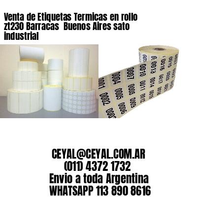 Venta de Etiquetas Termicas en rollo zt230 Barracas  Buenos Aires sato industrial