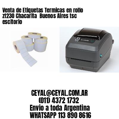 Venta de Etiquetas Termicas en rollo zt230 Chacarita  Buenos Aires tsc escitorio